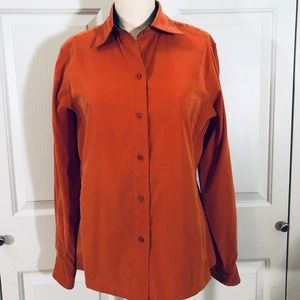 Faconnable Button Down Shirt Rusk Color